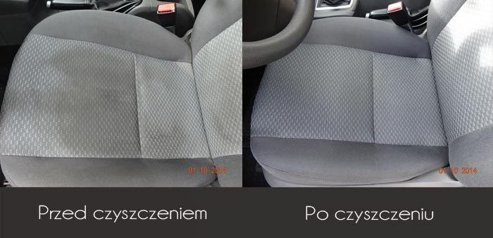 Czyszczenie wnętrz samochodów