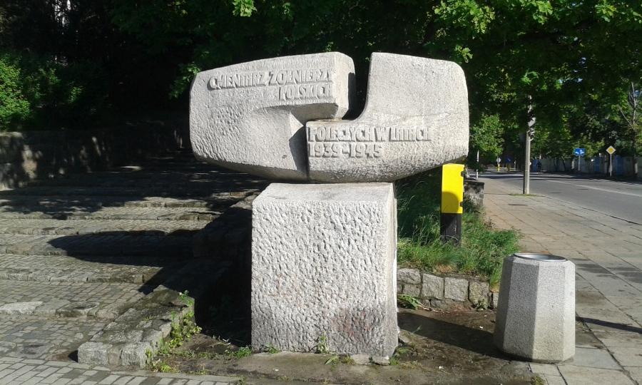 Czyszczenie ciśnieniowe pomnika