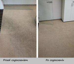 czyszczenie, pranie wykładziny biurowej w Gdańku