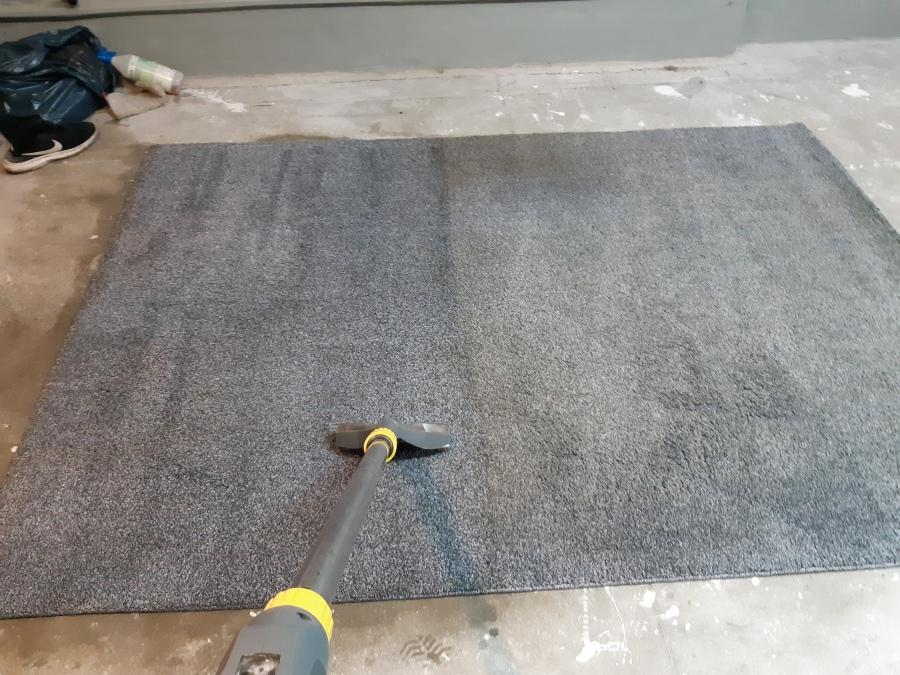 pranie dywanu - połowa