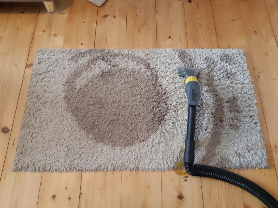 czyszczenie dywanów, pranie dywanów - efekt