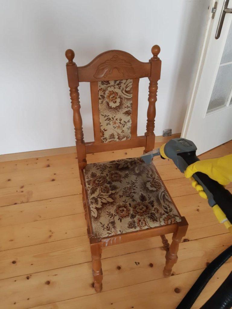czyszczenie tapicerki krzesła, pranie tapicerki