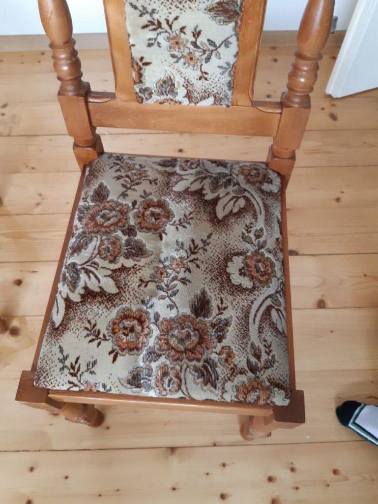 pranie tapicerek, czyszczenie tapicerek - efekt