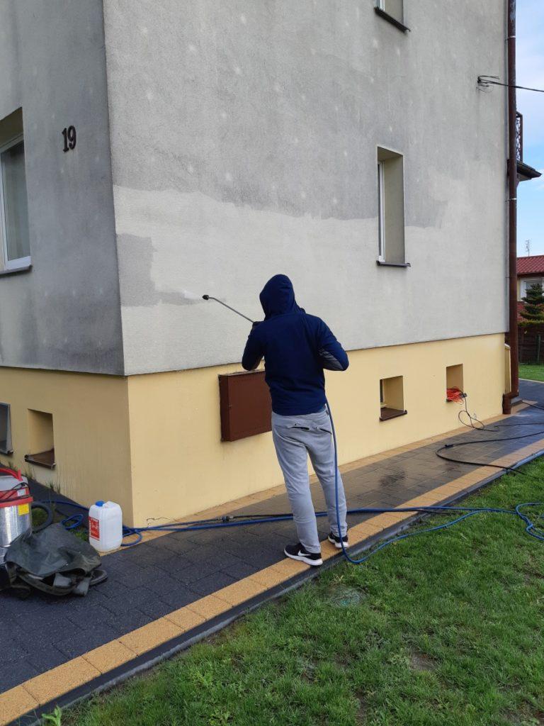 czyszczenie fasady