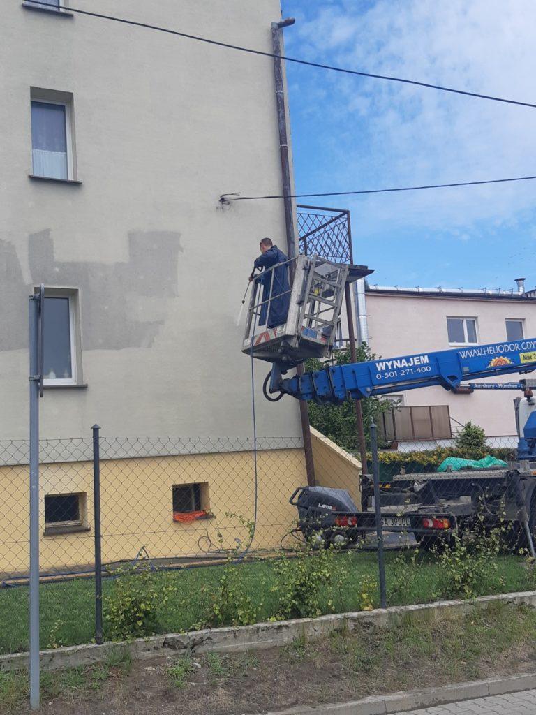 mycie czyszczenie fasady