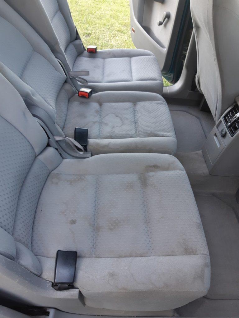 czyszczenie , pranie tapicerki samochodowej