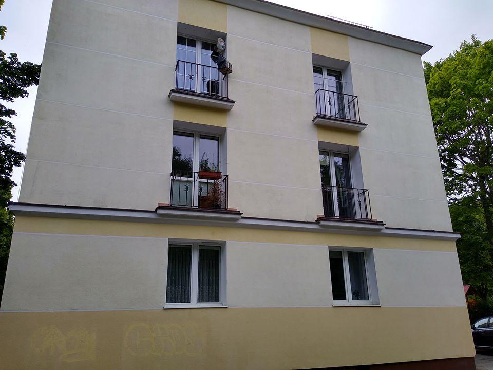 Czyszczenie elewacji budynku Gdańsk