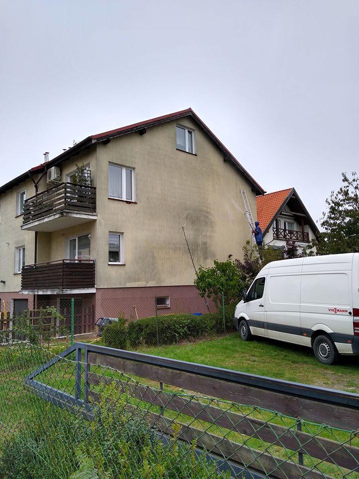 Czyszczenie elewacji Gdańsk (efekt przed)
