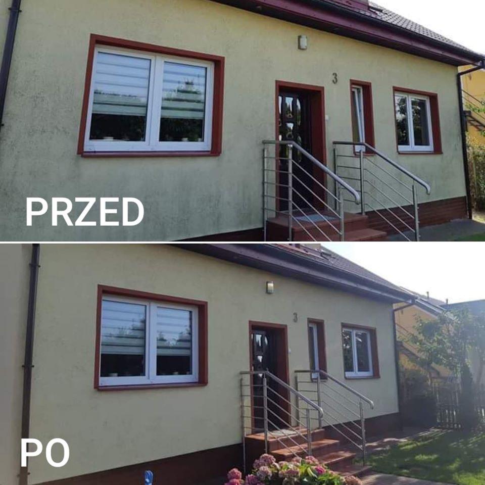 czyszczenie elewacji domu Gdańsk